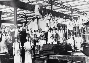 Ipswich Railway Workshops - Date Unknown
