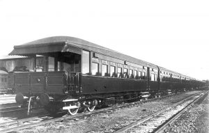 Sunshine Express Parlour Car (Courtesy QR Historical Collection)