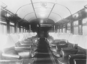 Sunshine Express Parlour Car Interior (Courtesy of QR Historical Collection)