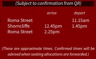 Shorncliffe-departure-times